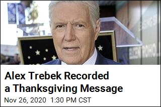 Jeopardy! Shares Thanksgiving Message From Alex Trebek