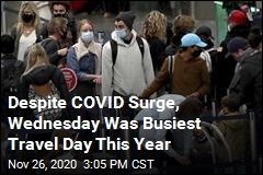 Wednesday Was Busiest US Travel Day Since Pandemic Began