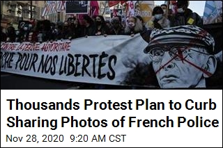 Thousands Protest Plan to Curb Sharing Photos of French Police