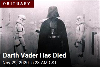 Darth Vader Has Died