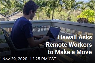 Hawaii Asks Remote Workers to Make a Move
