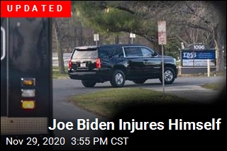 Joe Biden Injures Himself