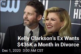 Kelly Clarkson's Husband Wants $436K a Month in Divorce