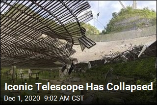 Iconic Telescope Has Collapsed
