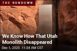 We Know How That Utah Monolith Disappeared