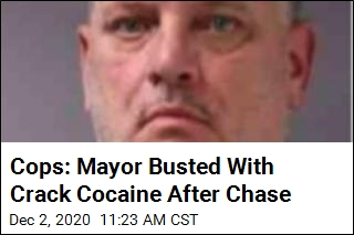 Cops: Mayor Busted With Crack Cocaine After Chase
