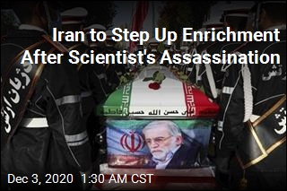 Iran to Step Up Enrichment After Scientist Assassinated