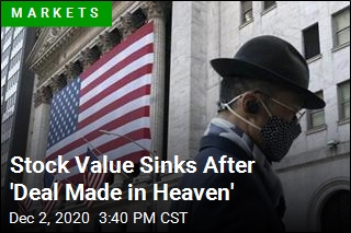 Stock Value Sinks After 'Deal Made in Heaven'