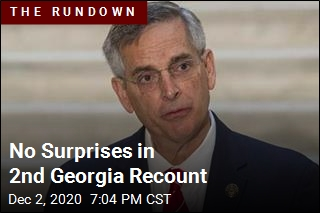 'No Substantial Changes' in 2nd Georgia Recount