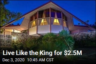 Live Like the King for $2.5M