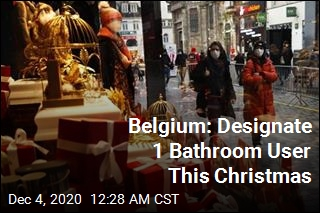 Belgians Can Attend Christmas Parties but Not Use the Bathroom