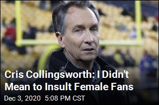 Cris Collingsworth: I Didn't Mean to Insult Female Fans