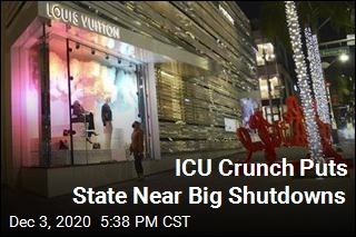 ICU Crunch Puts State Near Big Shutdowns