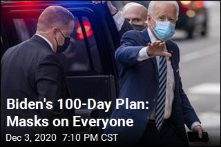 For His First 100 Days, Biden Asks, Wear Masks
