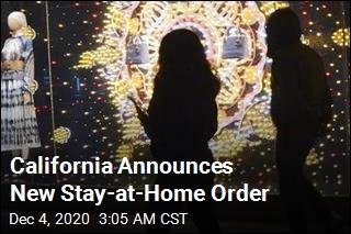 California Announces New Stay-at-Home Order