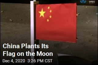 China Plants Its Flag on the Moon