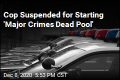 Cop Suspended for Starting 'Major Crimes Dead Pool'
