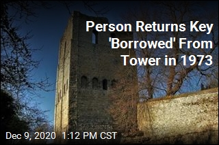 After 47 Years, Person Returns Key to Tower Castle