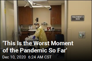 'This Is the Worst Moment of the Pandemic So Far'