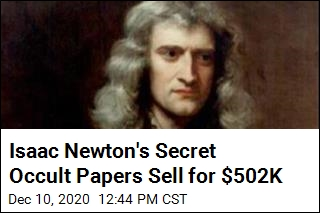 Notes From Isaac Newton's Secret Research Sell for $502K