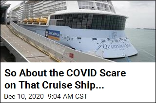 Officials: Sorry, COVID Scare on Cruise Ship Was a Dud