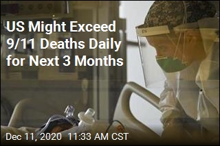 US Might Exceed 9/11 Deaths Daily for Next 3 Months