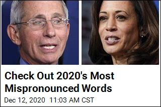 Check Out 2020's Most Mispronounced Words