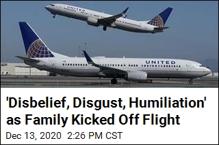 'Disbelief, Disgust, Humiliation' as Family Kicked Off Flight