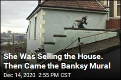 She Was Selling the House. Then Came the Banksy Mural