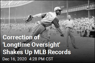 Correction of 'Longtime Oversight' Shakes Up MLB Records