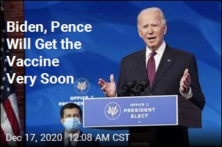 Biden, Pence Will Get the Vaccine Very Soon