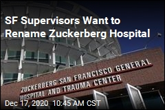 SF Supervisors Say Zuck's Name Shouldn't Be on Hospital