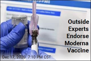 Moderna Vaccine Is Now a Step Away