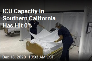 ICU Capacity in Southern California Has Hit 0%
