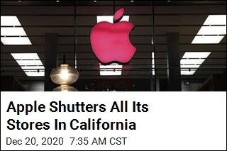 Apple Shutters All Its Stores In California