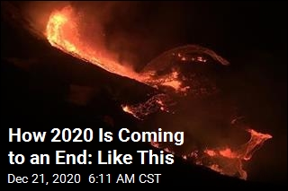 2020 Is Ending With a Volcanic Eruption in Hawaii