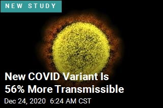 New COVID Variant Is 56% More Transmissible