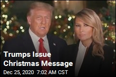 Trumps Issue Christmas Message