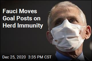 Fauci Moves Goal Posts on Herd Immunity