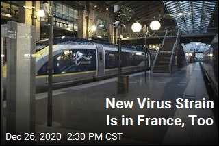 France Reports First Case of New Strain