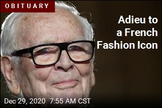 Fashion King Pierre Cardin Dead at 98
