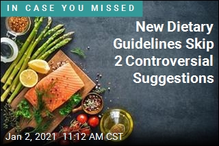 New Dietary Guidelines Skip 2 Controversial Suggestions