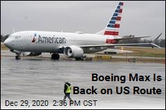 Boeing Max Is Back on US Route
