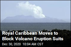 Eruption Suits Target Royal Caribbean
