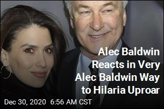Alec Baldwin Reacts in Very Alec Baldwin Way to Hilaria Uproar