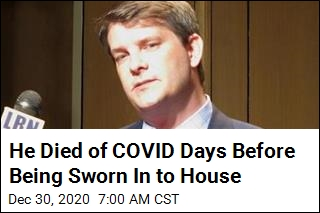 Incoming Congressman Dies of COVID