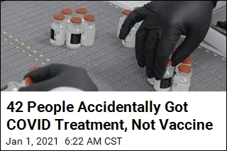 In Goof, 42 People Injected With Treatment, Not Vaccine