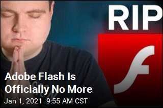 The 'Funeral Procession' for Adobe Flash Is Over