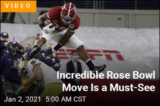 Check Out This Incredible Rose Bowl Move