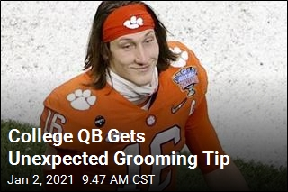 College QB Gets Unexpected Grooming Tip